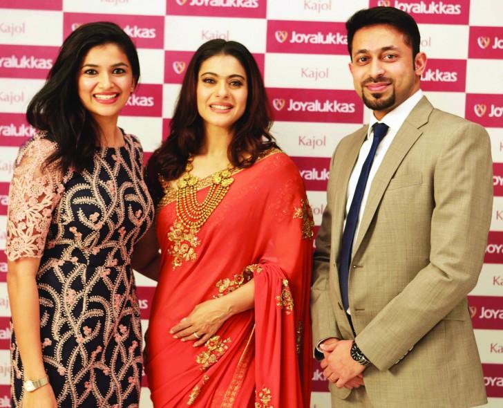 Joyalukkas Signs Award Winning Bollywood Actress Kajol Devgan As Brand Ambassador