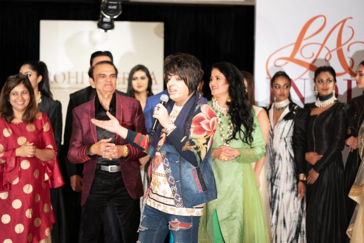 Designer Rohit Verma Who Has Always Surprised People With His Creative Unique Collections Wrapped Up The La India Fashion Week Indialife Us